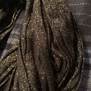 Black glittery Express scarf
